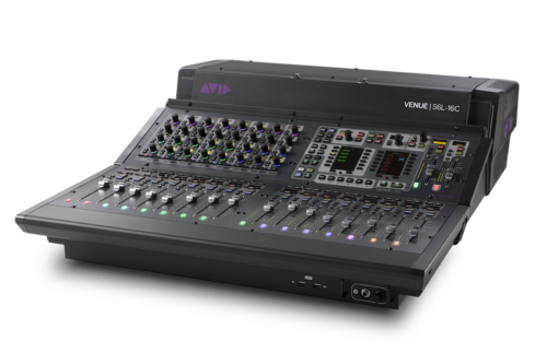 Avid S6L-livemikseri-16C-ohjainpinta
