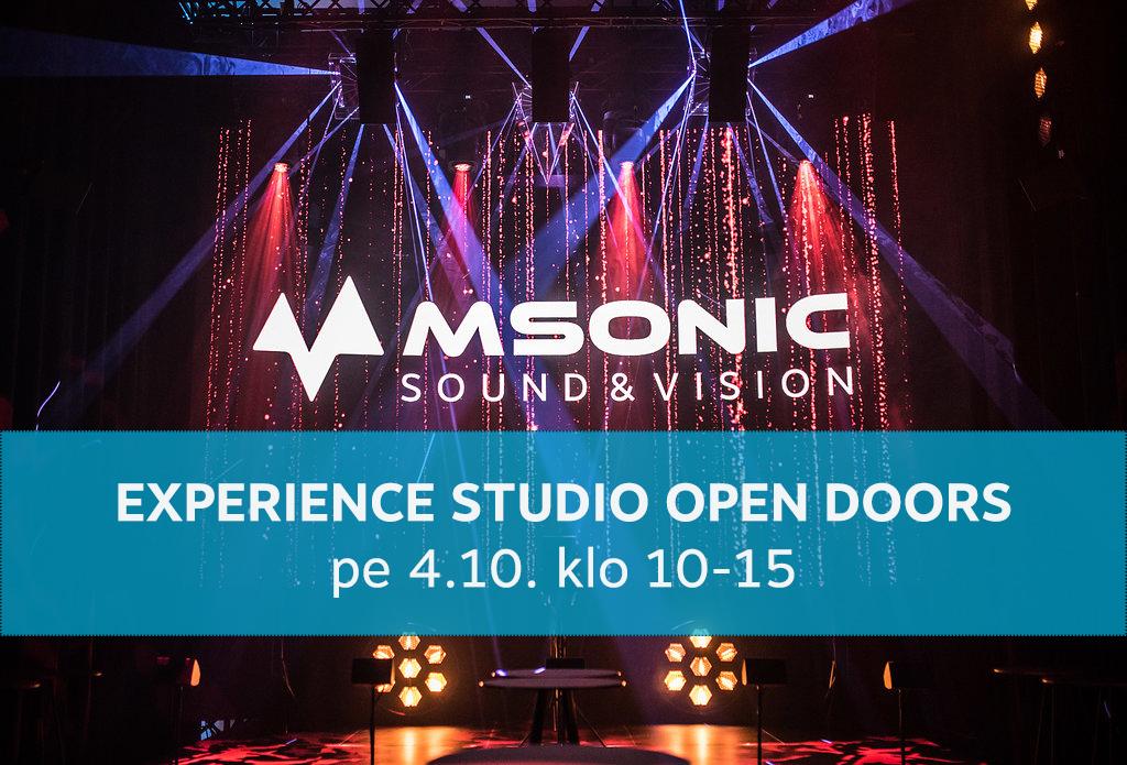 msonic-experience-studio